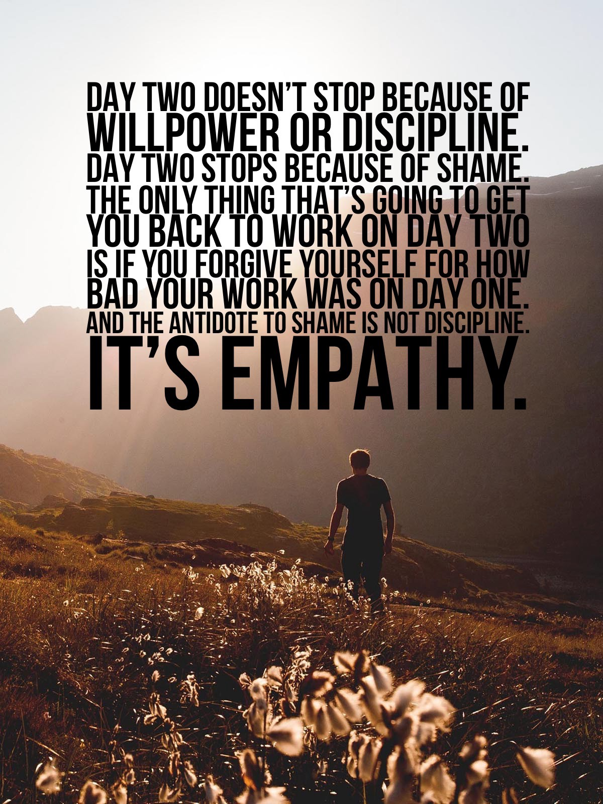 Day Two Willpower Or Discipline