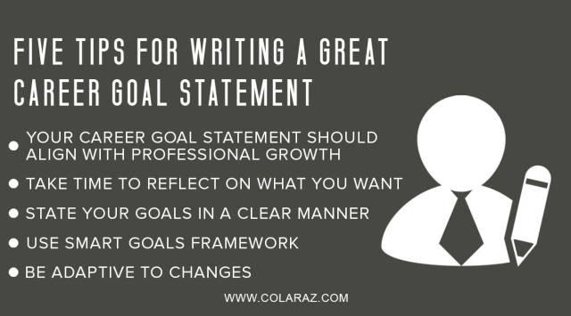 career goal statement