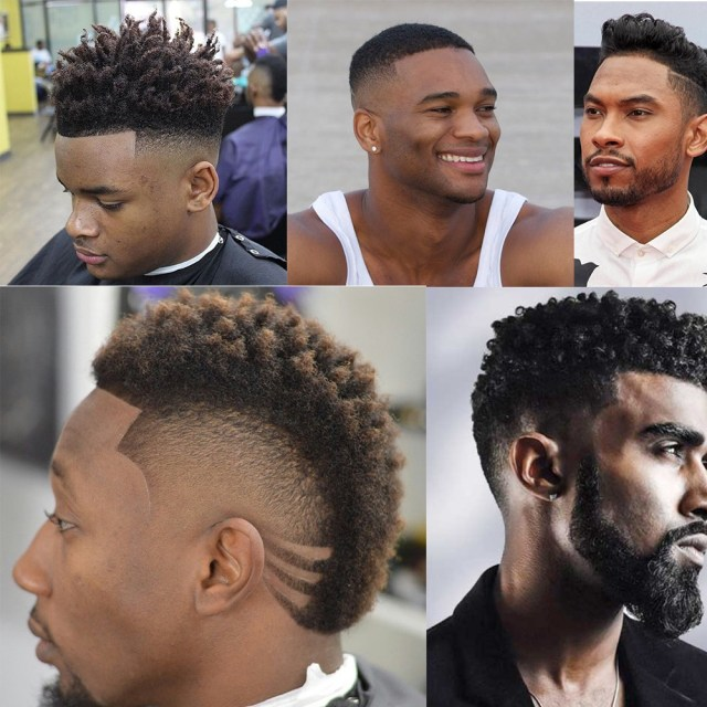 here is the most attractive black men hairstyles - fashion