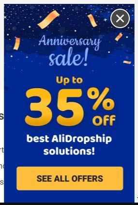 alidropship sales