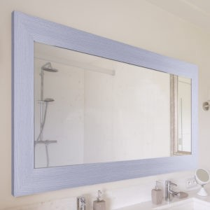 create the perfect bathroom mirror