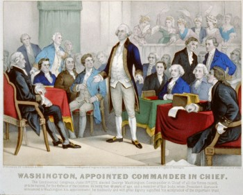 OTD in History… June 15, 1775, the Continental Congress votes George  Washington Commander in Chief of the Continental Army in the American  Revolution