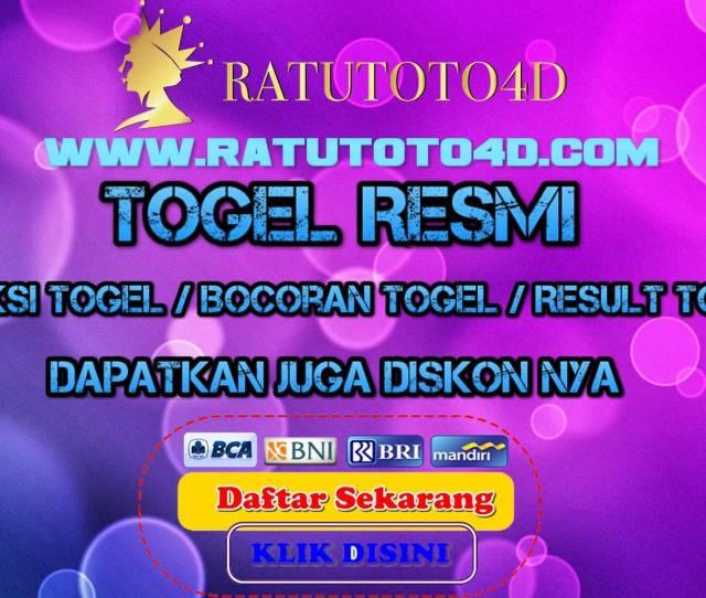 Togel Online Togel Hongkong Togel Singapore Totobet Ratutotod