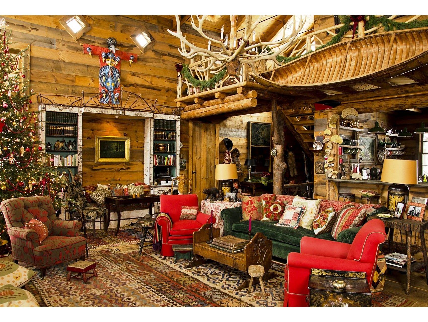 Fascinating Primitive Living Room Interior Design Ideas