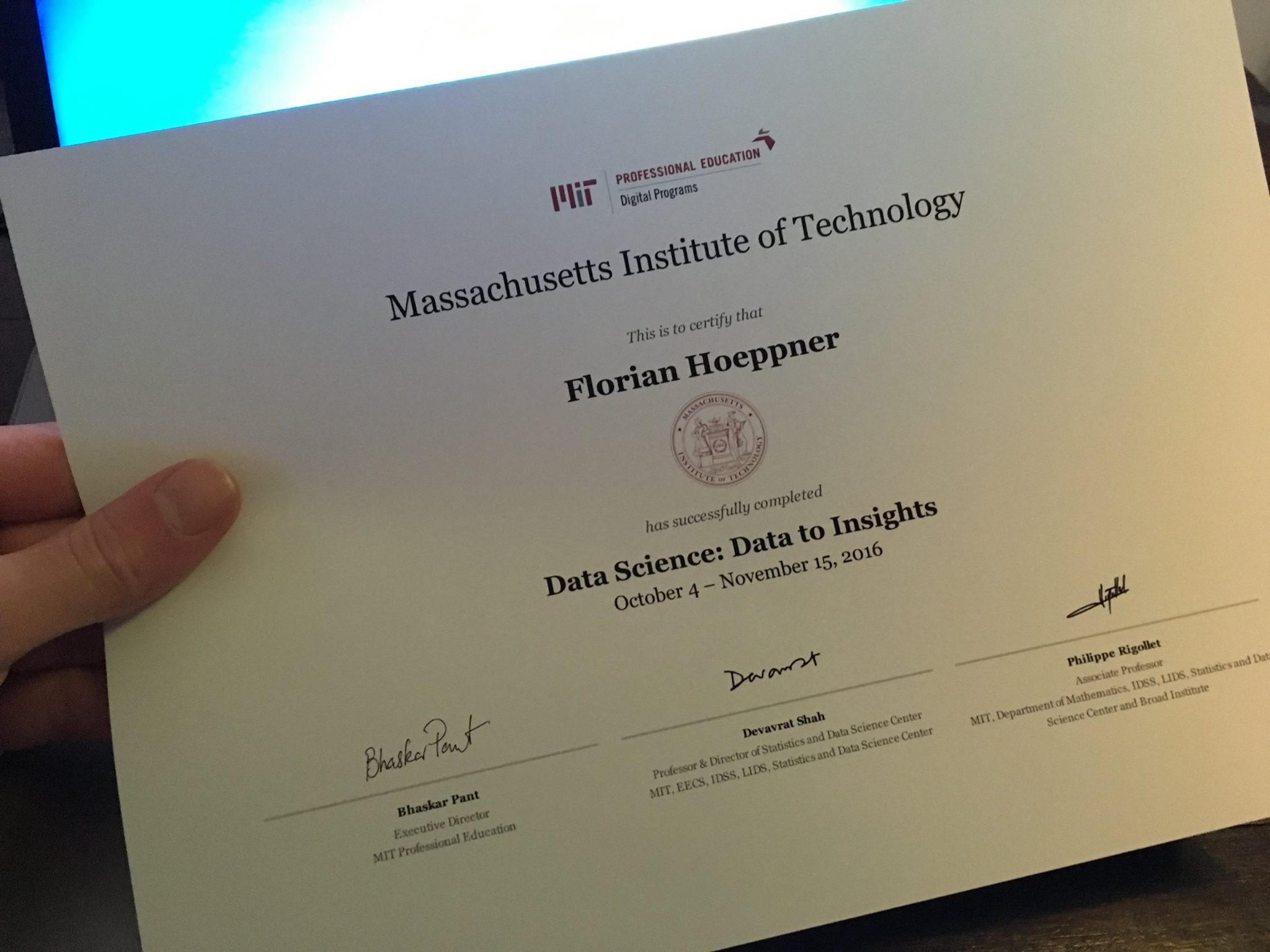 What I Learned From The Mit Professional Education Program