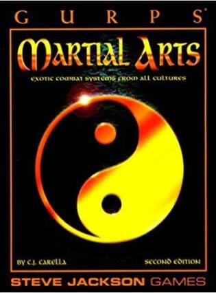Resultado de imagem para gurps artes marciais
