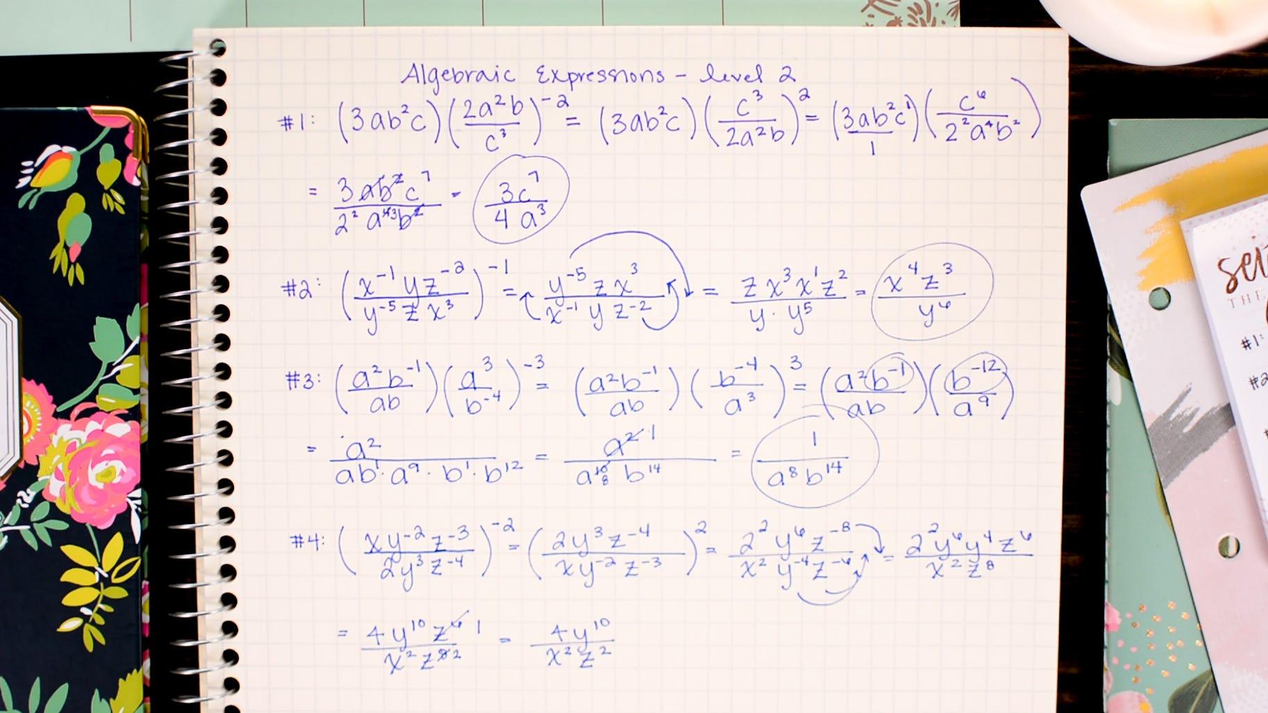 How To Solve Dividing Algebraic Equations