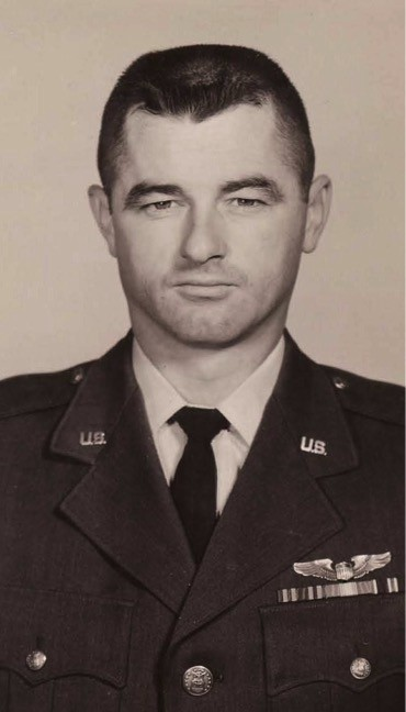 Major Floyd L. Montgomery (USAF retired); a fighter pilot for  in the 1950s and VIP pilot in 1960s