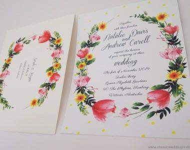 Wedding Invitations Sydney Classic