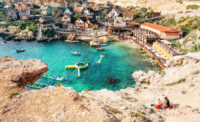 Meet Malta's Popeye Village — A Film Set-Turned-Town | by Alex Pappademas |  Airbnb Magazine | Medium