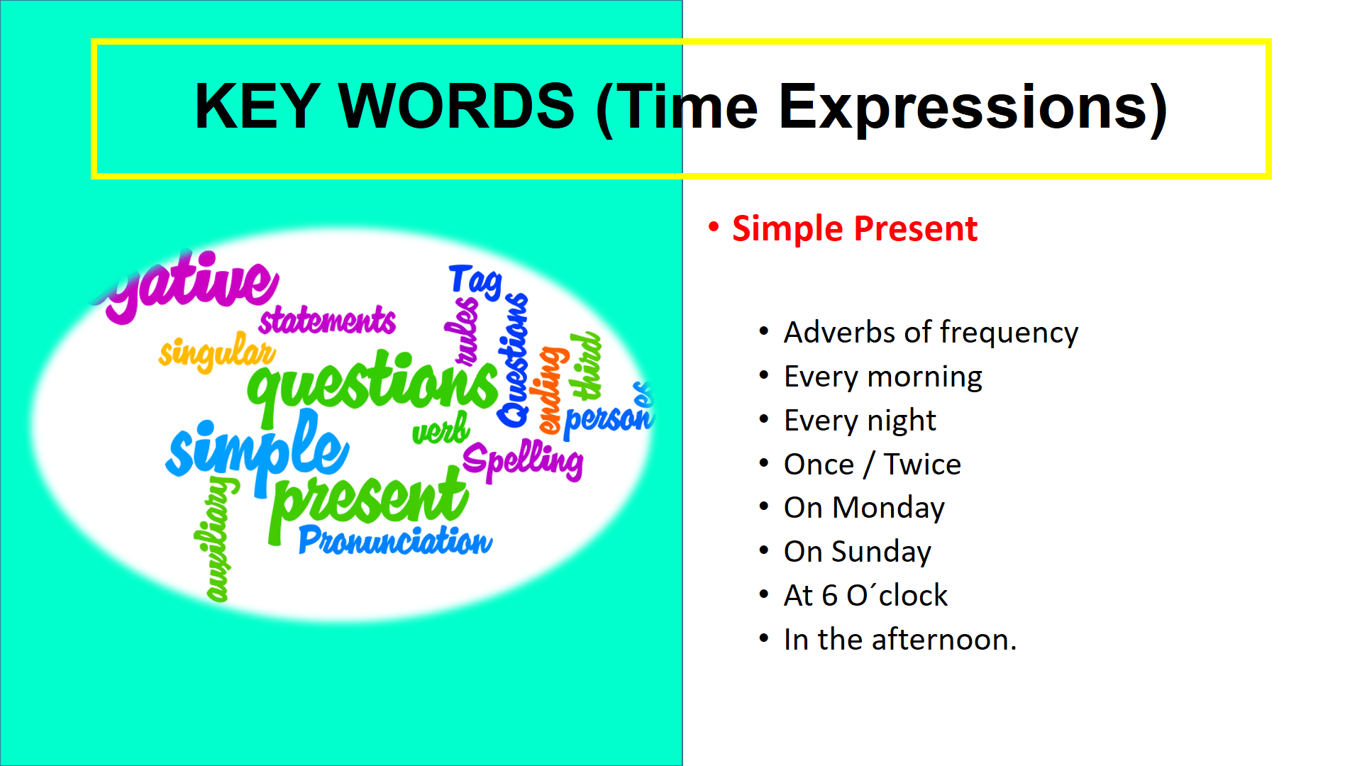 The Present Continuous Also Called Present Progressive Is