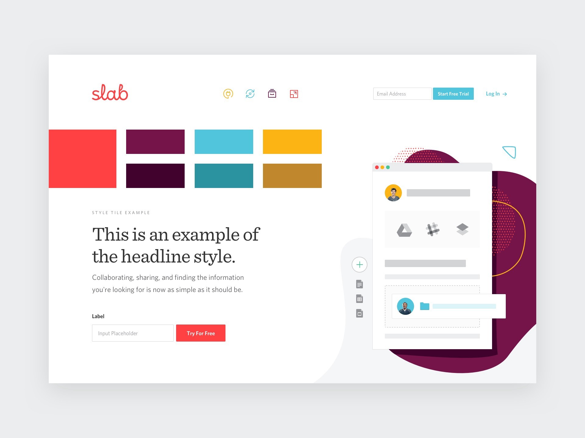 what is a style tile a ui designers
