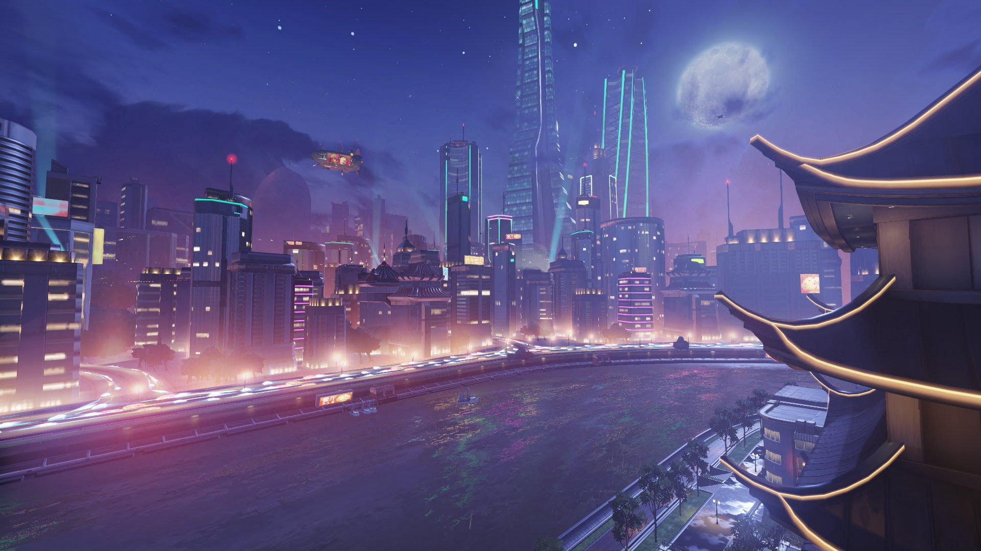 Overwatch Lijiang Tower Update Hints At New Moonbase Map