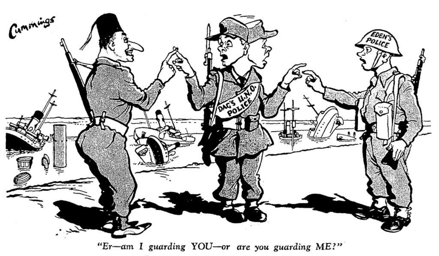 Suez Crisis Summarized In 20 Points