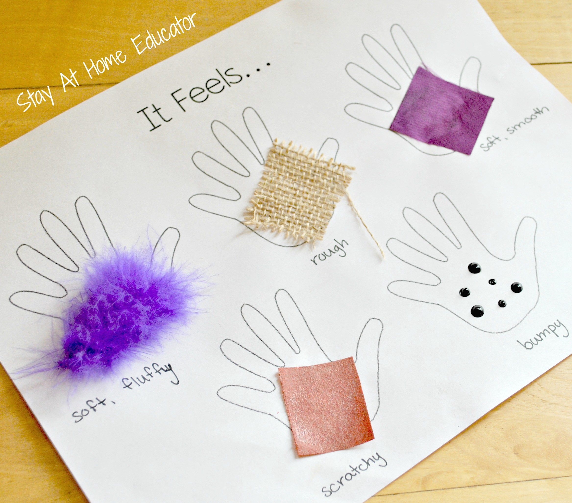 Mini Lesson Plan Texture