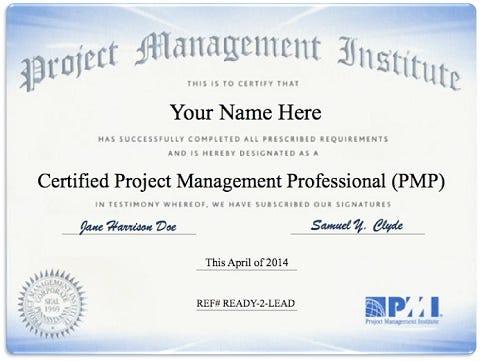 Is It Worth Getting Pmp Certified Sasha Steskal Medium