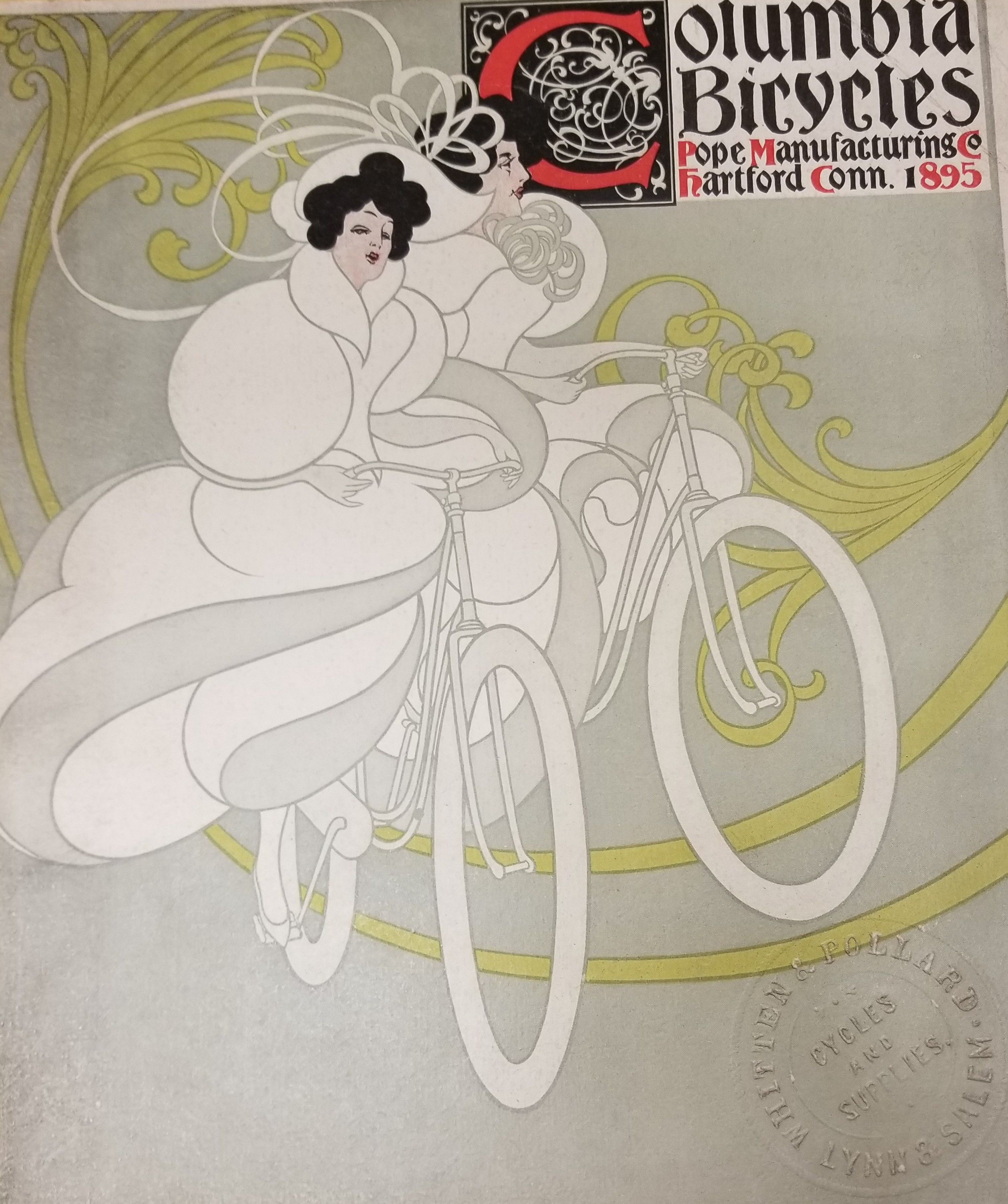 advertising bicycles to the new england