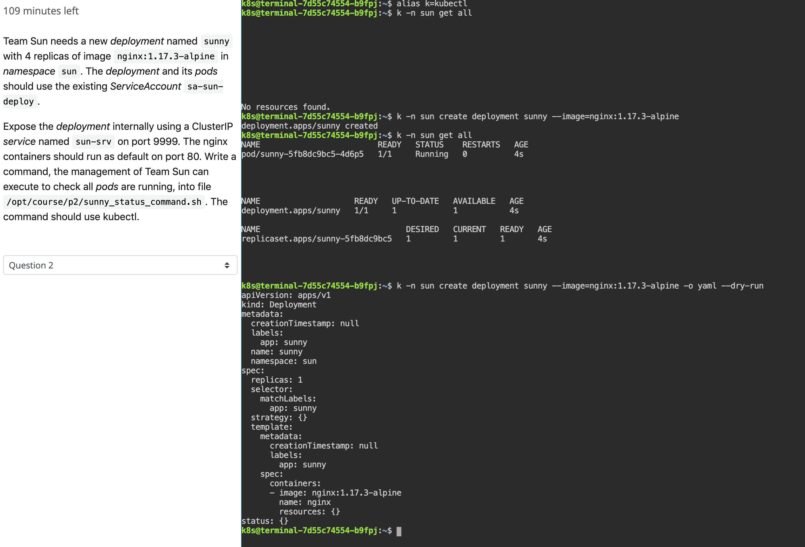 The Ckad Browser Terminal Codeburst