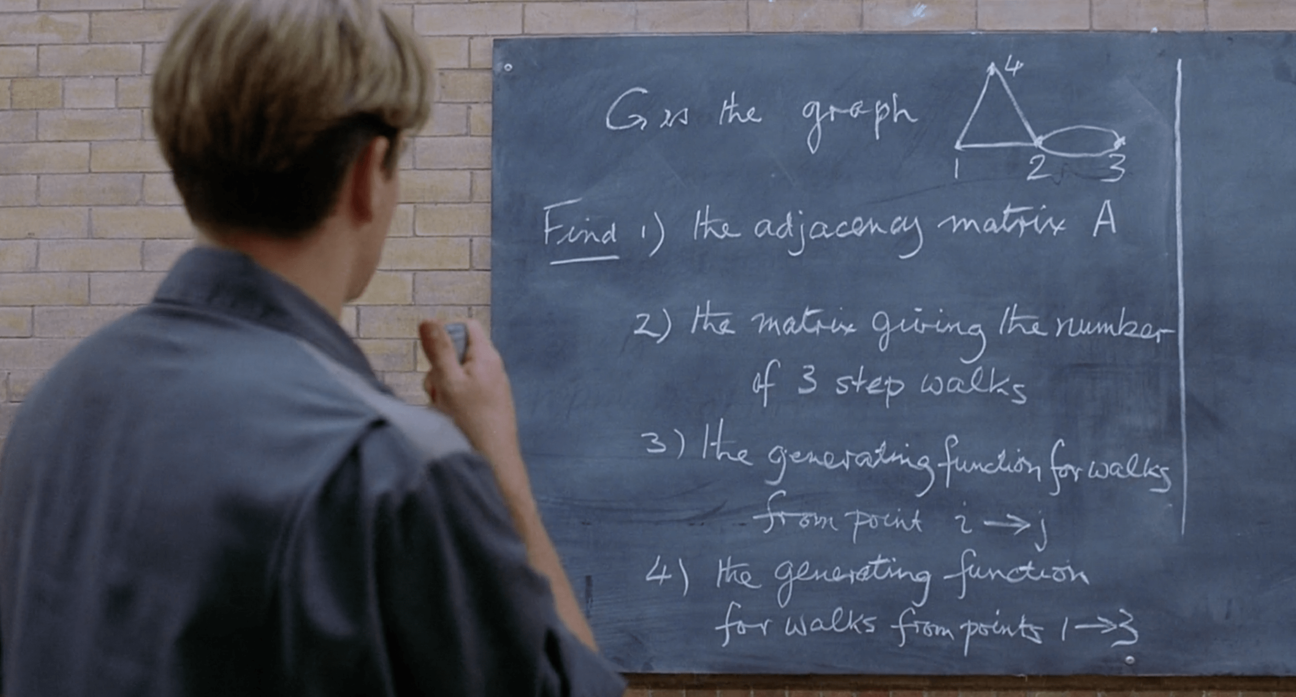 The Math Problems From Good Will Hunting W Solutions