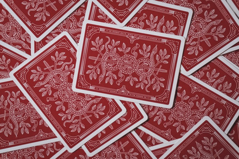 playing cards house of cards leverage debt business financing