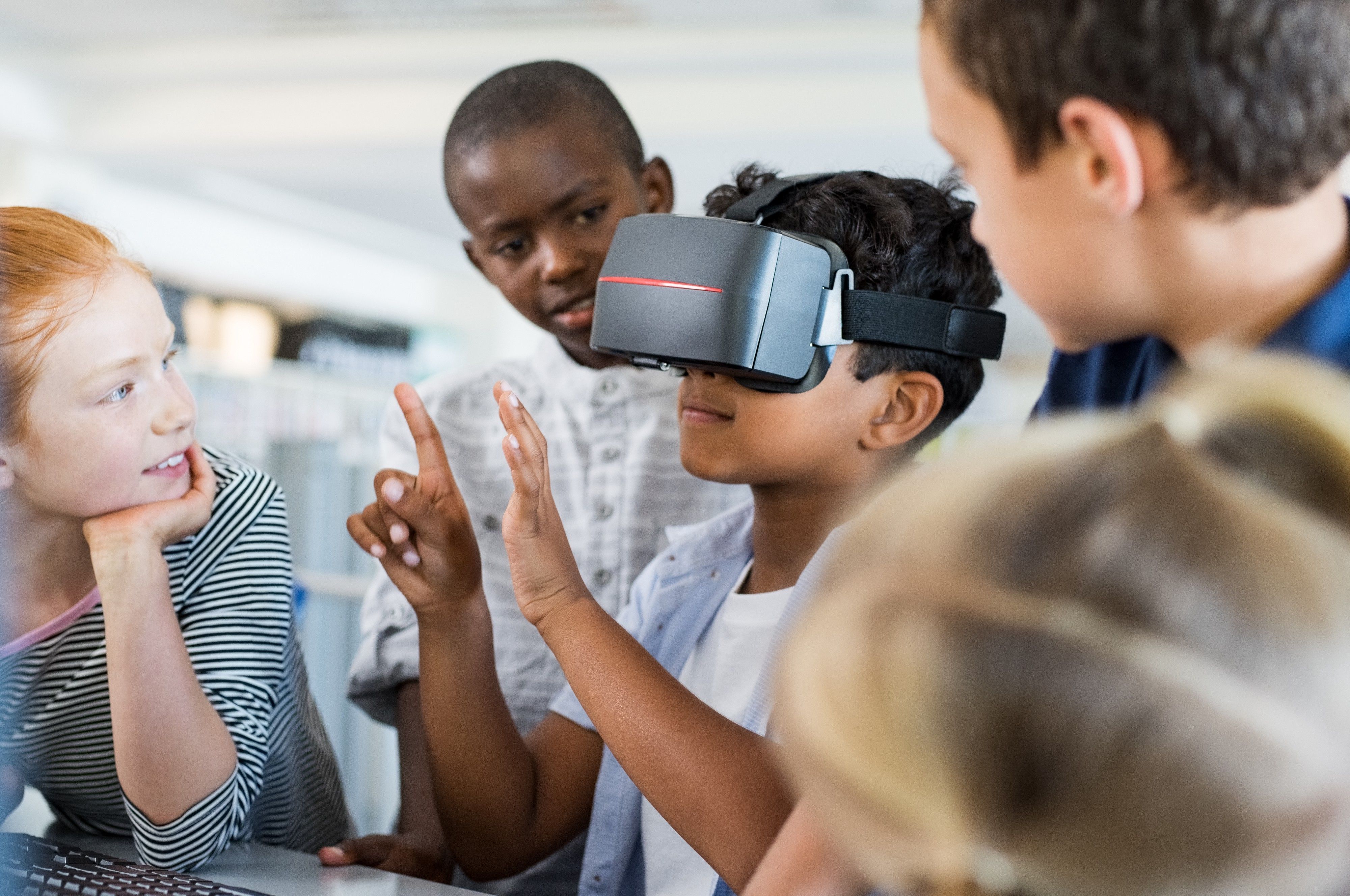 The use of virtual reality in schools motivates students