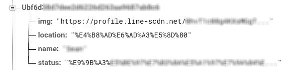 存userId、公開資料進到firebase