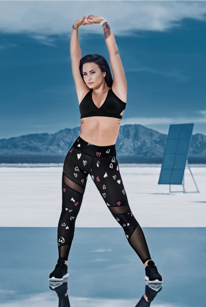 Look and feel fabulous in Demi Lovato x Kate Hudson's Fabletics ...