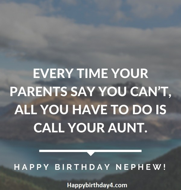 Birthday Wishes For Nephew You Re The Most Adorable Talented And By Happy Birthday Medium