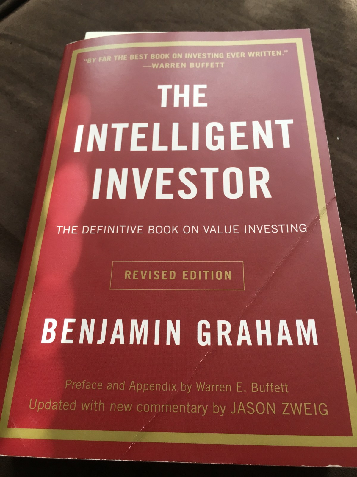 The Intelligent Investor series (Intro & Chapter 1)   by David Cappelucci    The Intelligent Investor Series   Medium