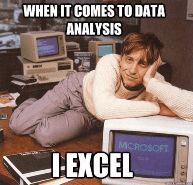 Excel For Data Science Learn How One Of The Oldest Analysis