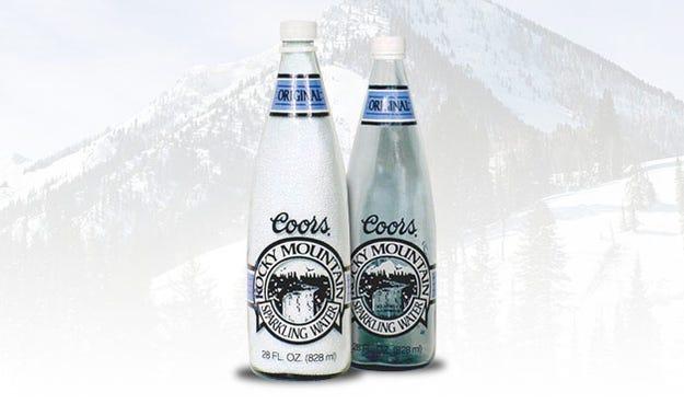 Hasil gambar untuk coors rocky mountain sparkling water failure