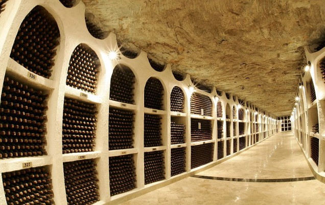 The Largest Winery In The World Over 300 Km Underground Tunnels
