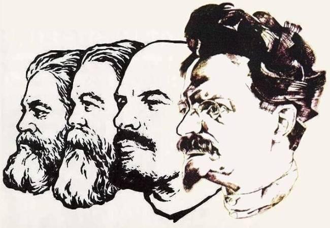 Image result for marx engels lenin trotsky