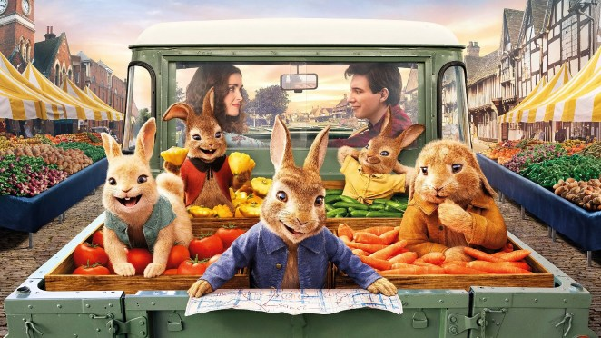 Poster for the film Peter Rabbit 2