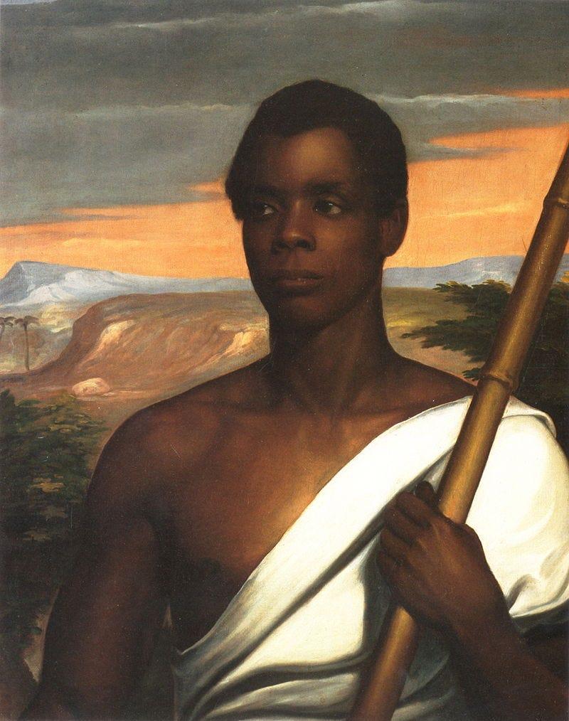 Retrato de Joseph Cinqué (Nathaniel Jocelyn) / Imagen:Dominio público en Wikimedia Commons