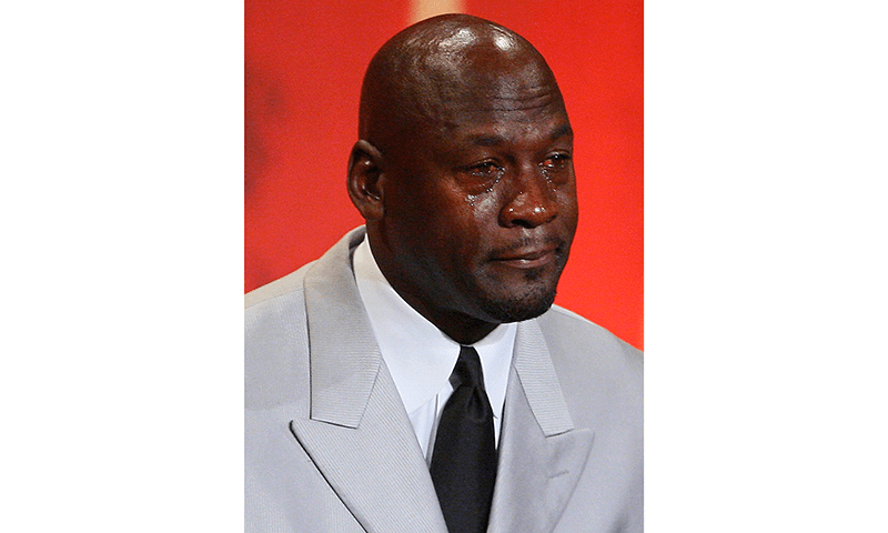 The Infamous Michael Jackson S Crying Meme By Carrie Medium