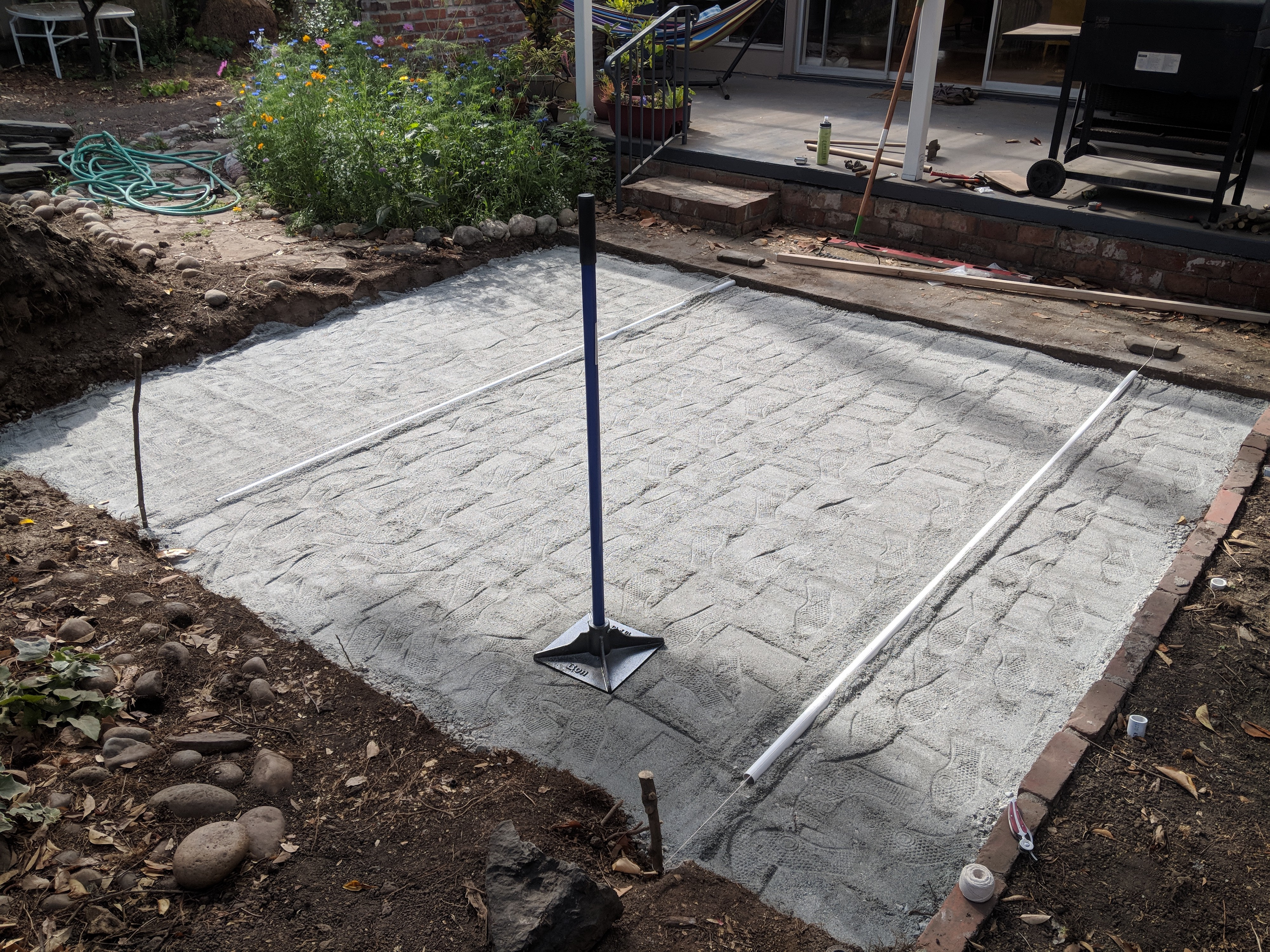 amateur hour build your own patio in a