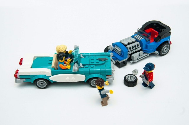 LEGO road traffic accident