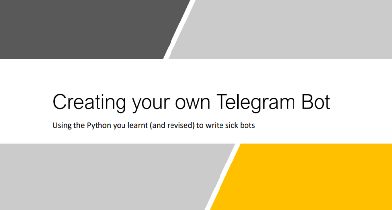 How To Make Telegram BOT with Python 9