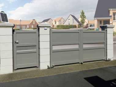 Le portail doit assurer la sécurité de votre maison contre les intrusions et être en harmonie avec votre décoration extérieure
