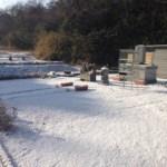 2月の雪景色