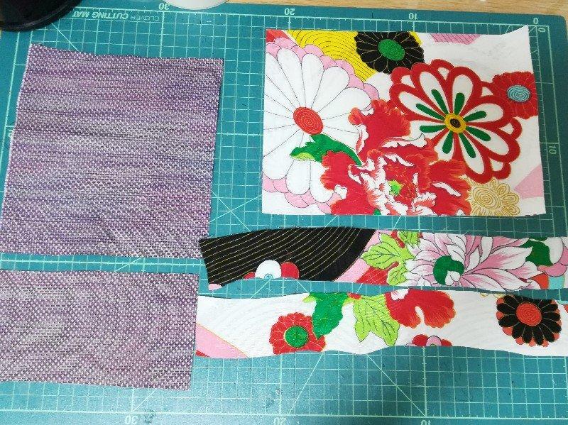 ポケットティッシュケースを手作りするための材料を紹介します