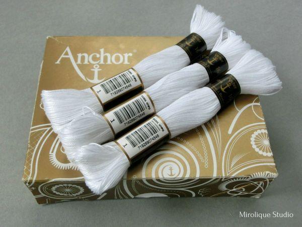 мулине anchor coton broder 16