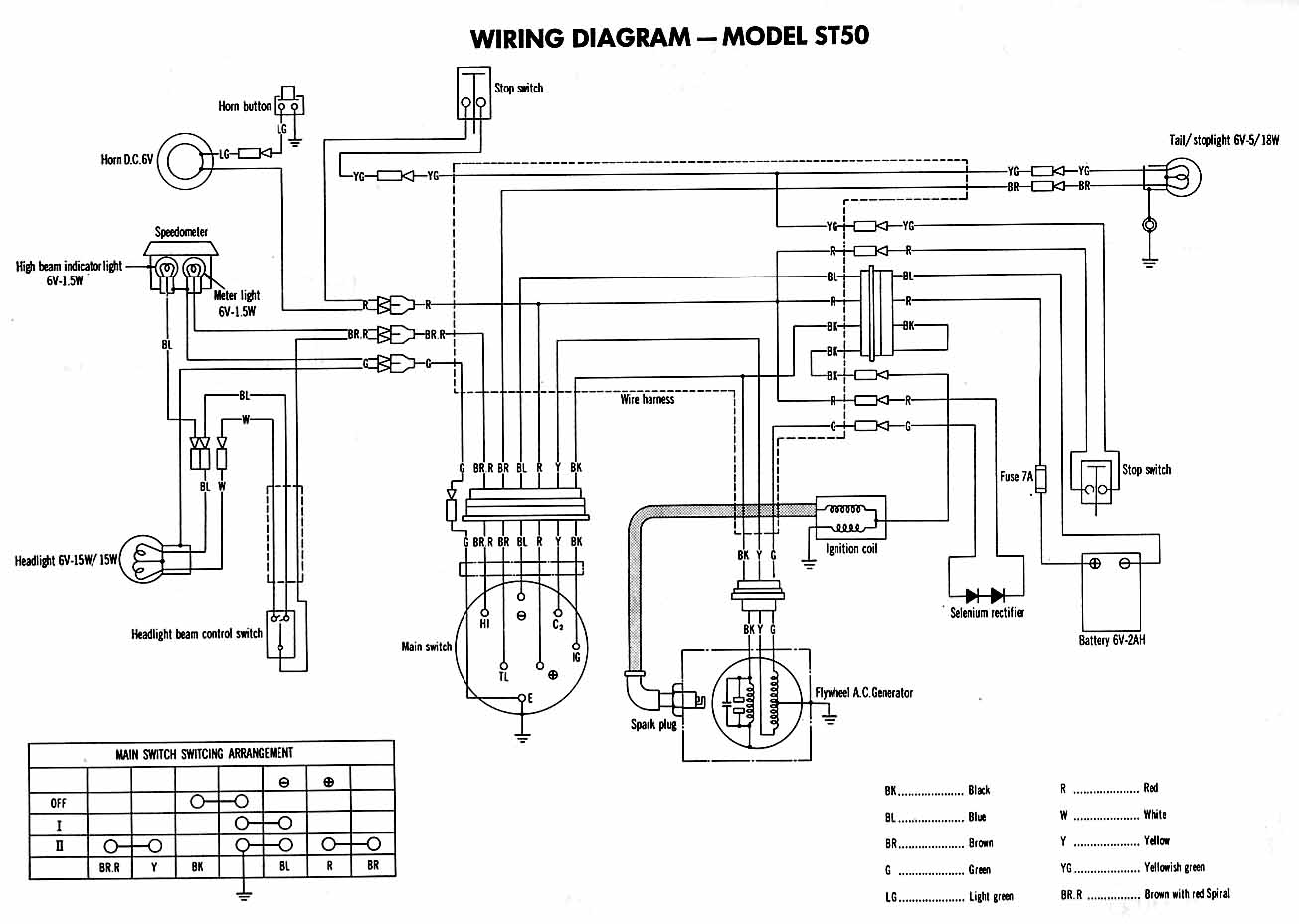 X2 Pocket Bike Wiring Diagram