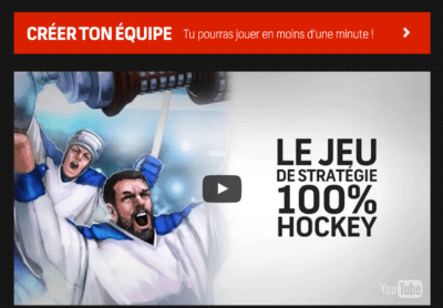 Ligue virtuelle de hockey | miron & cies