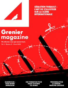 Sébastien Thibault : l'art de s'illustrer sur la scène internationale | Grenier Magazine