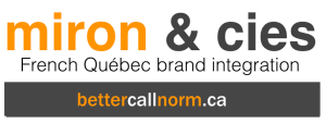 Normand Miron French Quebec integration | Miron et cies