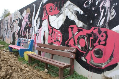 The wall in Košice (IPS Inter Press Service via Flickr)