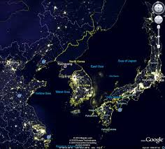 North Korea Light Image