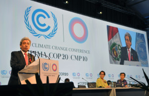 Peruvian Foreign Affairs Minister Reinel at the opening ceremony of the 2014 United Nations Climate Change Conference. Picture from Wikipedia